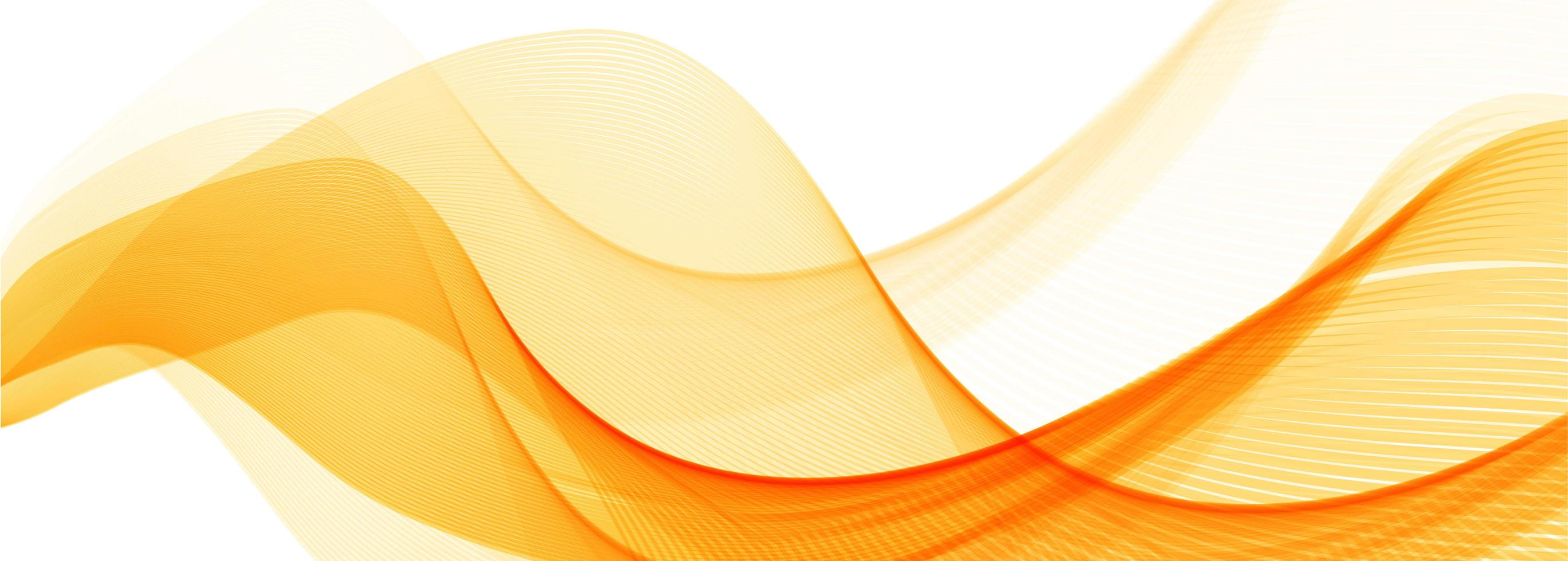 abstract-orange-stylish-wave-banner-background-vector