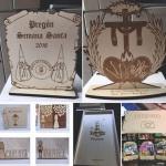 Trofeos y varios madera