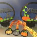 Trofeo y medalla calabaza